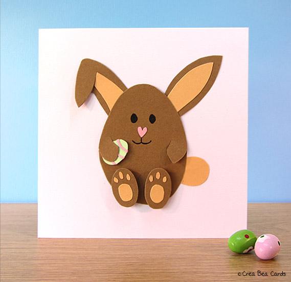 craft a easter bunny card crea bea cards