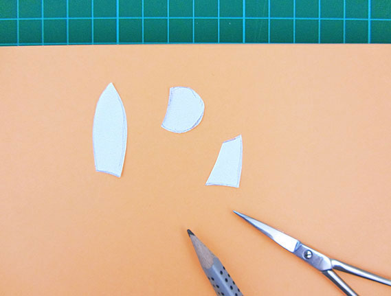 easter, bunny, egg, card, step 7