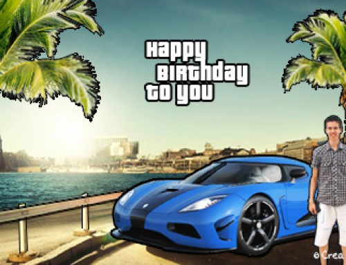 Grand Theft Auto gift wrap sleeve