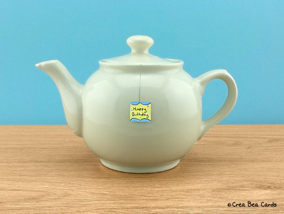 afternoon, tea, present, step 11