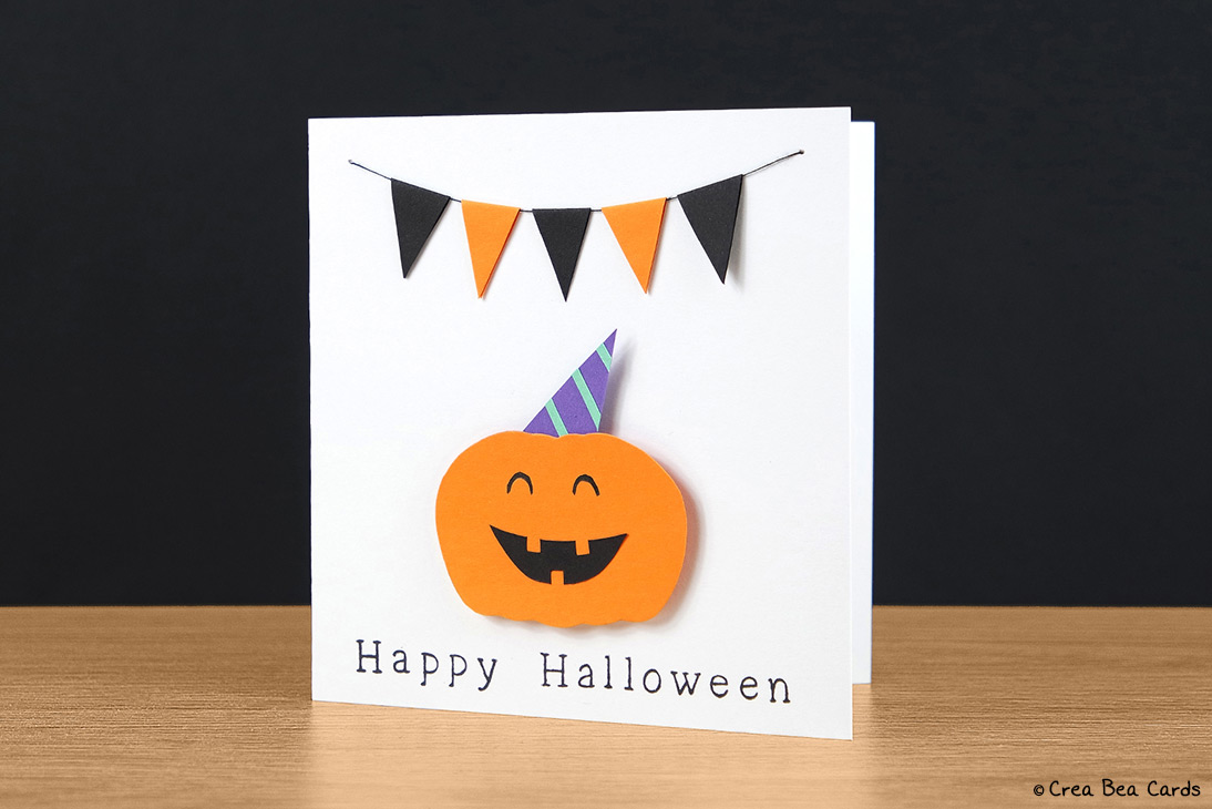 Very Happy Halloween card - Crea Bea Cards