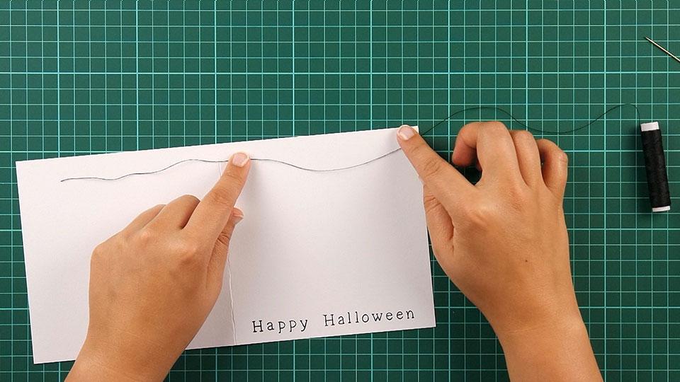 very, happy, halloween, card, step 14
