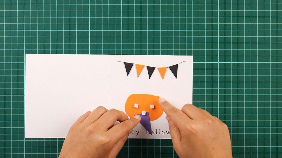 very, happy, halloween, card, step 20