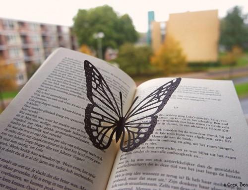 Butterfly pop-up book