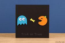 Halloween Pac-Man card