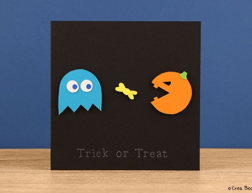 Halloween Pac-Man card