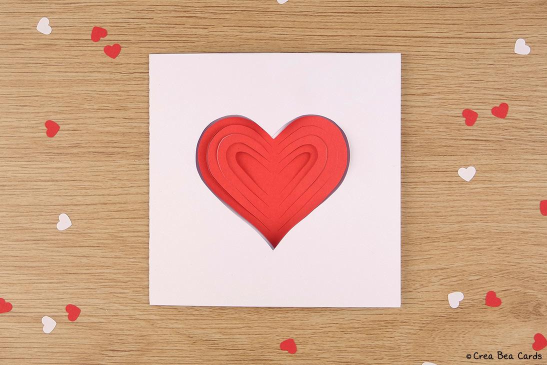 simplepapercutheartcardstraight  crea bea cards