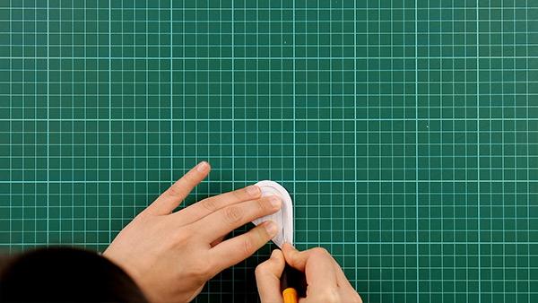 simple, papercut, heart, card, tutorial, step 5