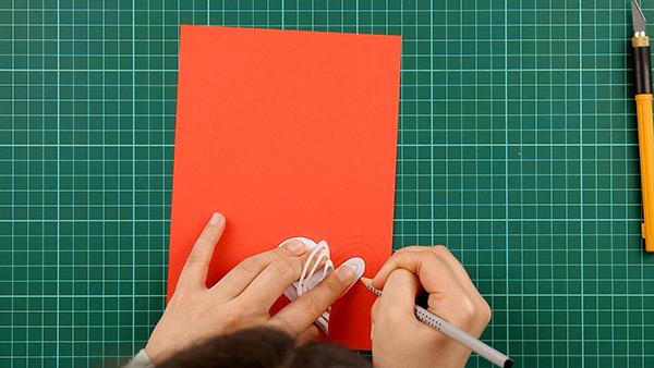 simple, papercut, heart, card, tutorial, step 6