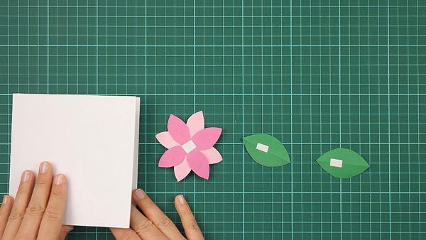 flower, floral, flowerish, nature, card, tutorial, step 10