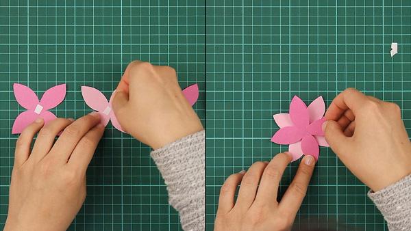 flower, floral, flowerish, nature, card, tutorial, step 4