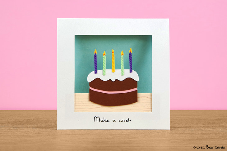 Cool Chocolicious Birthday Cake Card Tutorial Crea Bea Cards Funny Birthday Cards Online Fluifree Goldxyz