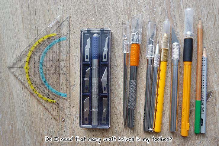 craft tools, sorting, duplicates