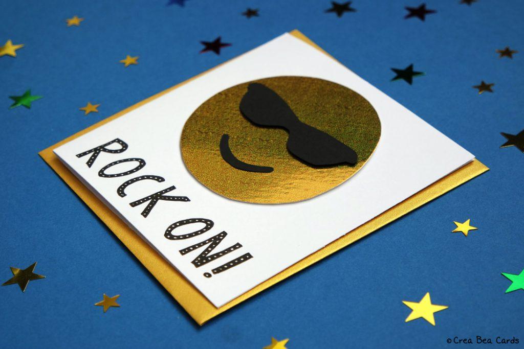 cool emoji card  crea bea cards