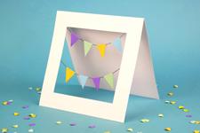 thumbnail of happy birthday garlands card tutorial