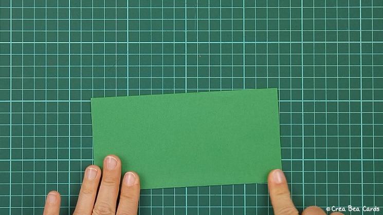 flower card, tutorial, card making, step 7